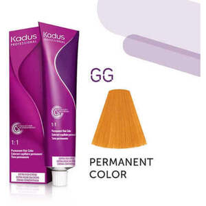 Kadus Professional Permanent Hair Color - GG Intense Gold Mix 2 oz. (4640)