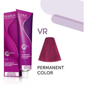Kadus Professional Permanent Hair Color - VR Violet Red Mix 2 oz. (7943)