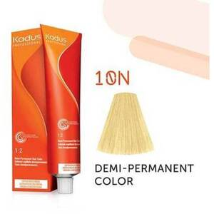 Kadus Professional Demi-Permanent Hair Color - 10N Lightest Blonde 2 oz. (7896)
