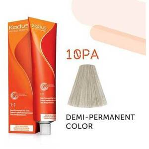 Kadus Professional Demi-Permanent Hair Color - 10PA Lightest Blond Pearl Ash 2 oz. (7897)