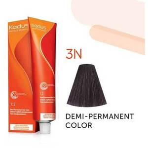 Kadus Professional Demi-Permanent Hair Color - 3N Dark Brunette 2 oz. (7879)