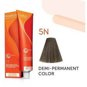 Kadus Professional Demi-Permanent Hair Color - 5N Light Brunette 2 oz. (7883)