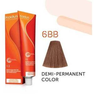 Kadus Professional Demi-Permanent Hair Color - 6BB Dark Blonde Intense Brown 2 oz. (7886)