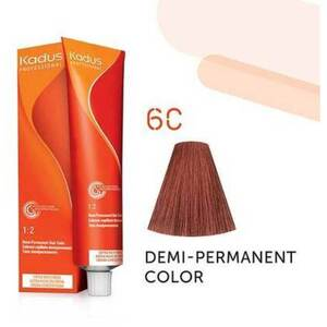 Kadus Professional Demi-Permanent Hair Color - 6C Dark Blonde Copper 2 oz. (7887)