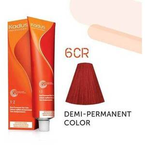 Kadus Professional Demi-Permanent Hair Color - 6CR Dark Blonde Copper Red 2 oz. (7862)