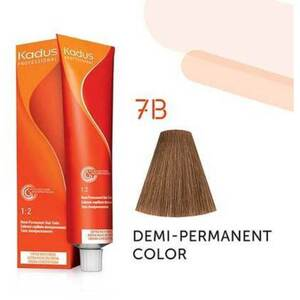 Kadus Professional Demi-Permanent Hair Color - 7B Medium Blonde Brown 2 oz. (7889)
