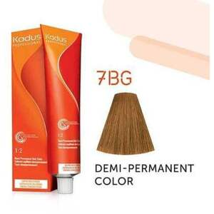 Kadus Professional Demi-Permanent Hair Color - 7BG Medium Blonde Brown Gold 2 oz. (4644)