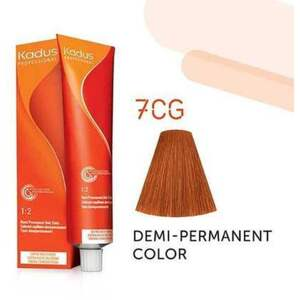 Kadus Professional Demi-Permanent Hair Color - 7CG Medium Blonde Copper Gold 2 oz. (7890)
