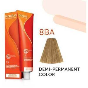 Kadus Professional Demi-Permanent Hair Color - 8BA Light Blonde Ash 2 oz. (7945)