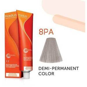 Kadus Professional Demi-Permanent Hair Color - 8PA Light Blonde Pearl Ash 2 oz. (7894)