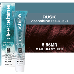 Rusk Deepshine Pure Pigments Conditioning Cream Color 5.56MR Mahogany Red 3.4 oz. (9341)