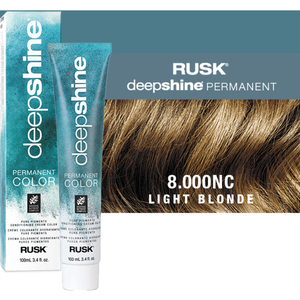 Rusk Deepshine Pure Pigments Conditioning Cream Color 8.000NC Light Blonde 3.4 oz. (9275)