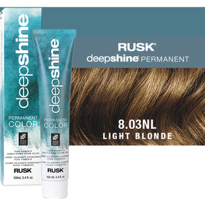 Rusk Deepshine Pure Pigments Conditioning Cream Color 8.03NL Light Blonde 3.4 oz. (9293)