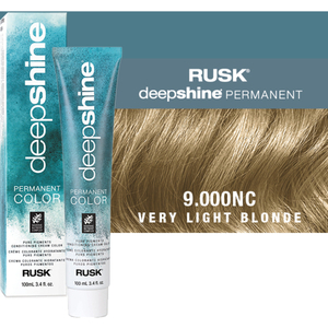 Rusk Deepshine Pure Pigments Conditioning Cream Color 9.000NC Very Light Blonde 3.4 oz. (9276)