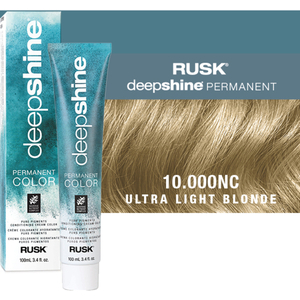 Rusk Deepshine Pure Pigments Conditioning Cream Color 10.000NC Ultra Light Blonde 3.4 oz. (9277)