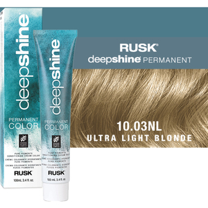 Rusk Deepshine Pure Pigments Conditioning Cream Color 10.03NL Ultra Light Blonde 3.4 oz. (9294)