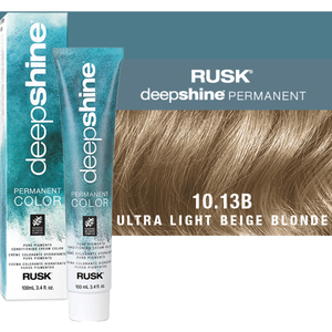 Rusk Deepshine Pure Pigments Conditioning Cream Color 10.13B Ultra Light Beige Blonde 3.4 oz. (9315)