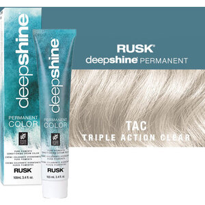Rusk Deepshine Pure Pigments Conditioning Cream Color Triple Action Clear 3.4 oz. (9373)