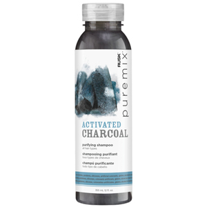 Rusk PUREMIX Activated Charcoal Purifying Shampoo 12 oz. (4380)