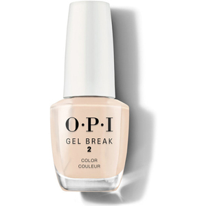 OPI Gel Break Color - Barely Beige - Step #2 Part of the OPI Gel Break System 0.5 oz. (7399)
