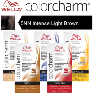 Wella Color Charm Permanent Liquid Haircolor - 5NN Intense Light Brown 1.4 oz. (6598)