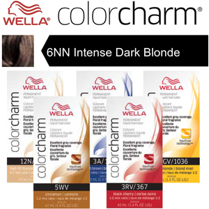 Wella Color Charm Permanent Liquid Haircolor - 6NN Intense Dark Blonde 1.4 oz. (6599)