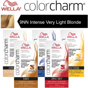 Wella Color Charm Permanent Liquid Haircolor - 9NN Intense Very Light Blonde 1.4 oz. (6602)