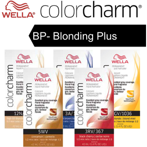 Wella Color Charm Permanent Liquid Haircolor - BP- Blonding Plus 1.4 oz. (6622)