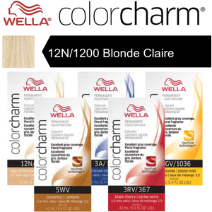 Wella Color Charm Permanent Liquid Haircolor - 12N1200 Blonde Claire 1.4 oz. (6689)