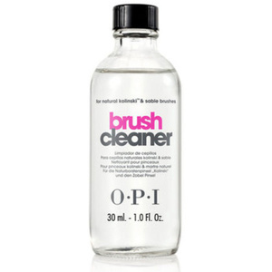 OPI Brush Cleaner - Ideal for Natural Kolinski and Sable Acrylic Brushes 1 oz. (7354)
