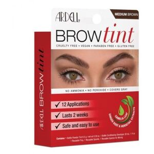 Ardell Brow Tint - Medium Brown 12 Applications (2257)
