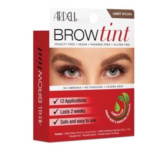 Ardell Brow Tint - Light Brown 12 Applications (2256)