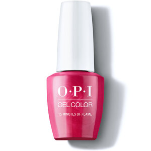 OPI GelColor Soak Off Gel Polish - #GCH011 - 15 Minutes of Flame - Hollywood Collection 0.5 oz. (30010)
