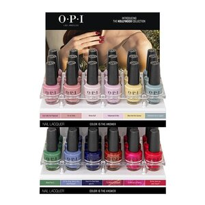 OPI Lacquer - #DCH64 - 36 Piece Acrylic Display - Hollywood Collection (30037)