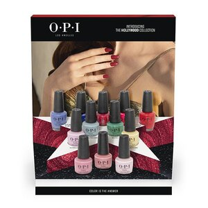 OPI Lacquer - #DCH63 - 12 Piece Chip Board Display - Hollywood Collection (30036)