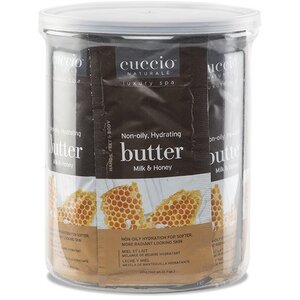 Cuccio Naturale Milk & Honey Butter Sachets 25 Piece Canister (9654)
