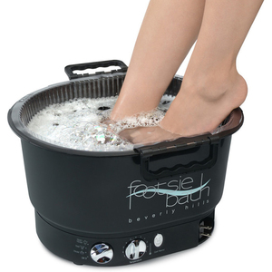 FOOTSIE BATH BEVERLY HILLS Black FootsieBath - Professional Only. Pedicure Spa and Disposable Liner System