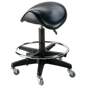 Deluxe Saddle Stool by KI NEW YORK (PK6015)