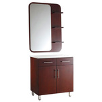 Ronja Hard Wood Mirror Styling Station by KI NEW YORK (PKL810004)