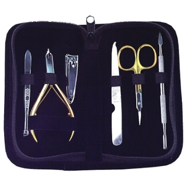 LUXOR Manicure Implements - Deluxe Manicure Kit