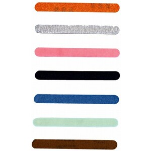 LUXOR Nail Files - Pink Cushion Board 600800 Gr