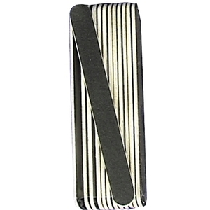 LUXOR Nail Files - Black Cushion Board Value Pack