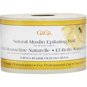 GIGI Natural Muslin Roll 40 Yards