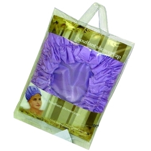 DONNA MAX Spa Impressions Bouffant Shower Cap As