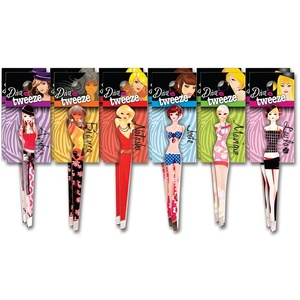Diva Tweeze - Tweezers For The Diva In You 12 Piece Pre-Pack (TW1001)