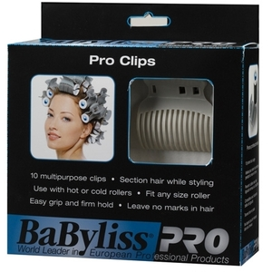 BaByliss®PRO Clips for Rollers (CN-BABPC10)