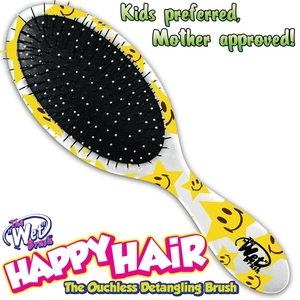Happy Hair Wet Brush for Kids - Stars (B830WH-S)