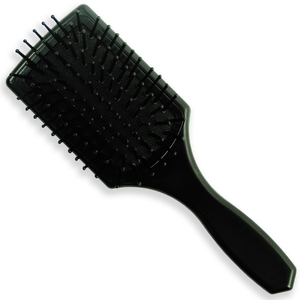 BIG Mini Paddle Brush by Luxor Pro - Assorted Colors (Black or White) (B826)