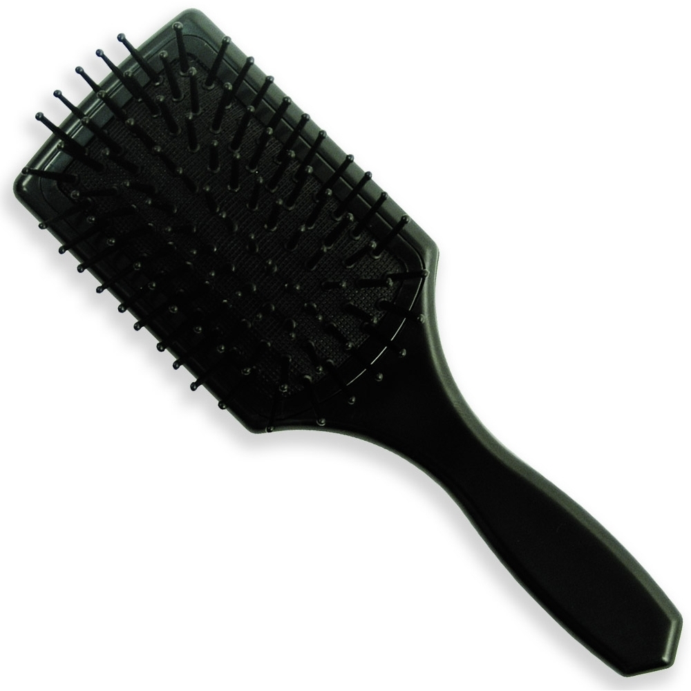 Detangling brush for black hair