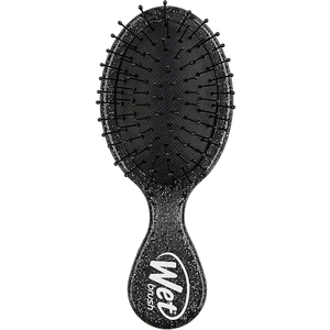 Wet Brush Mini Detangler Rock N Roll Black Glitter